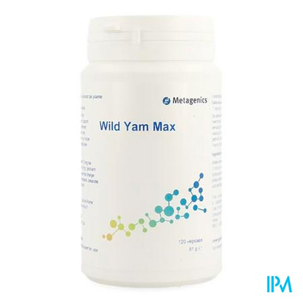 WILD YAM MAX - 120 VEGICAPS - Funciomed (Metagenics)