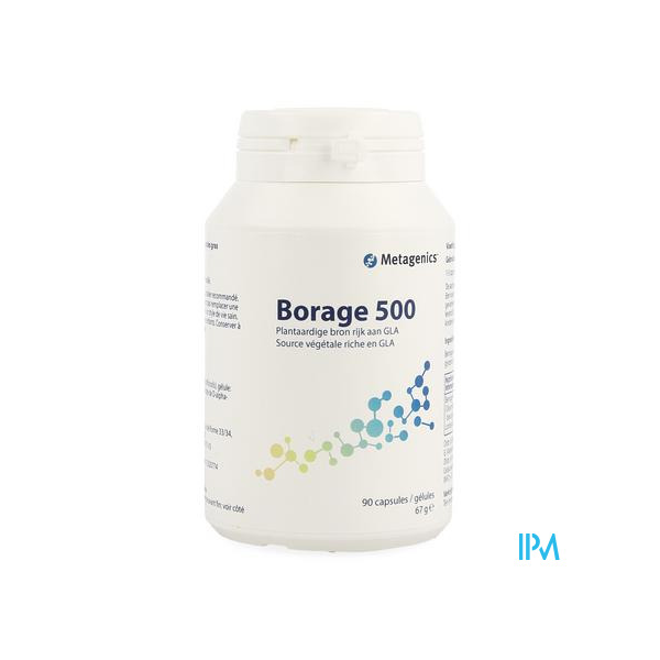 BORAGE 500 - 90 GELULES - Funciomed (Metagenics)