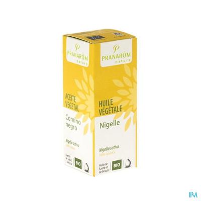 Nigelle Huile Végétale BIO Pranarôm - 50 ml Nigella sativa - Aide à renforcer les défenses naturelles de l?organisme. Favorise l