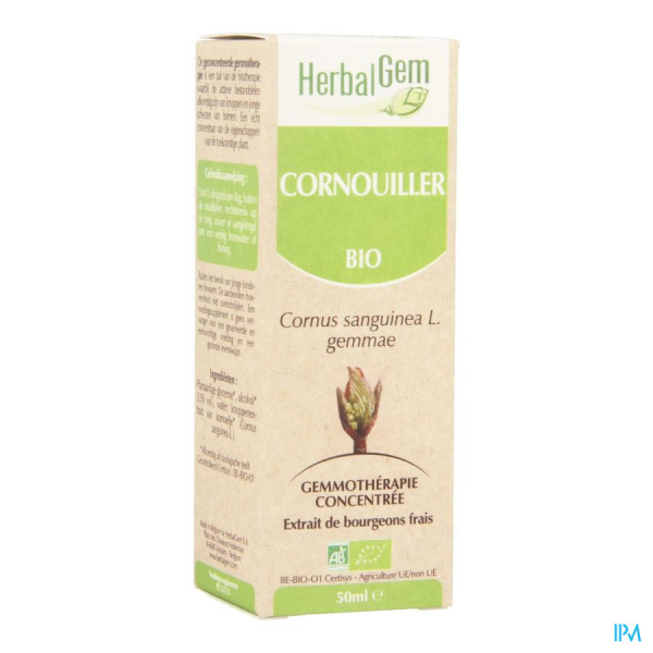 Herbalgem Cornouiller Macerat 50ml