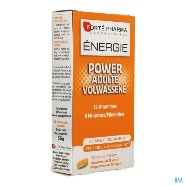 energie power adultes