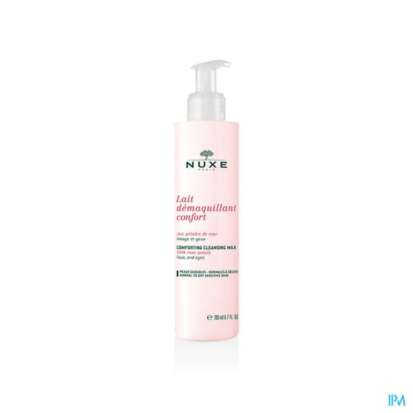 Nuxe lait démaquillant Confort à la rose 400ml