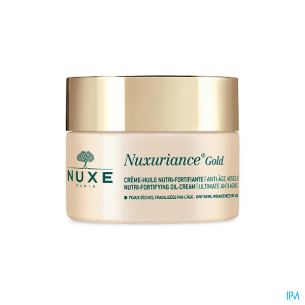 Crème-huile Nuxe Nuxuriance gold 50ml anti-rides