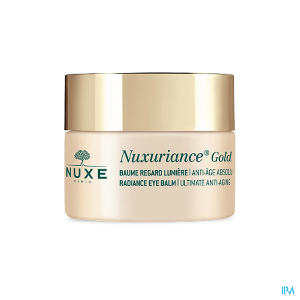 Baume anti-âge Nuxuriance Gold regard 15ml