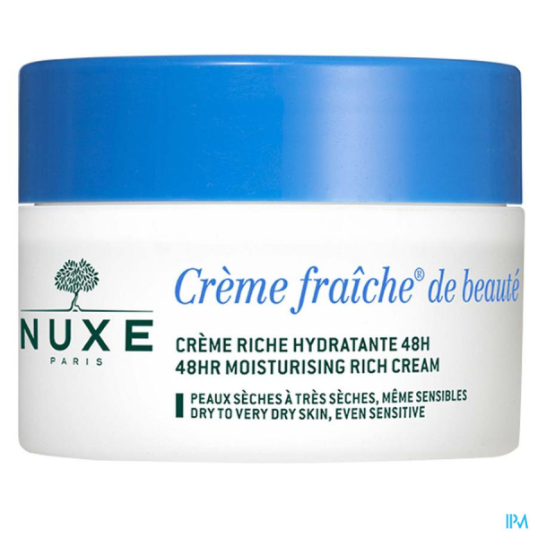 Nuxe Creme Fraiche Cr Riche Hydra 48h Tube 30ml