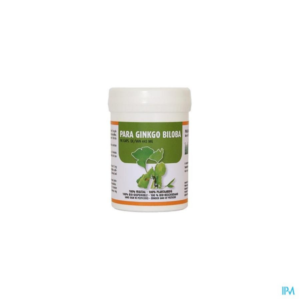 parabolic biologicals para ginkgo biloba 90gel.