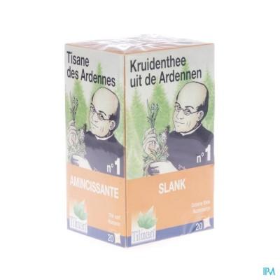 TISANE DES ARDENNES INFUSETTES N°1 amincissante - Tilman