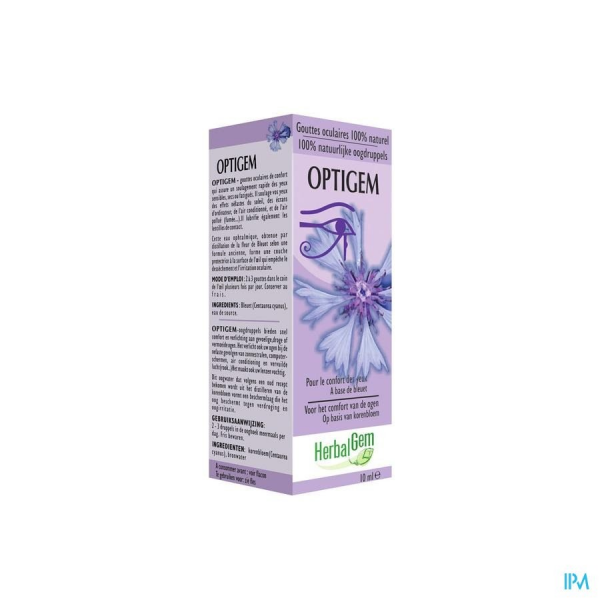 Herbalgem OPTIGEM collyre - 10 ml