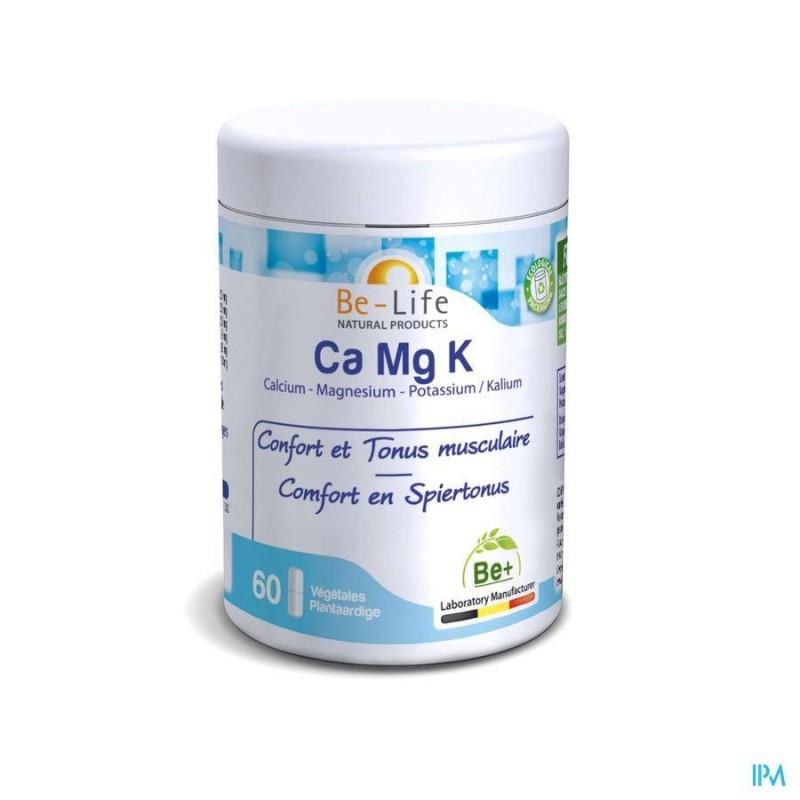 Ca Mg K  - 60 gélules - Be-Life (Biolife)