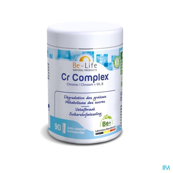 Cr COMPLEX - 90 gélules - Be-Life (Biolife)