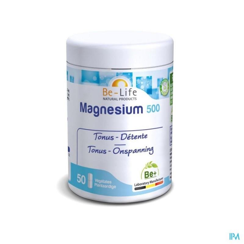 Magnesium 500 - 60 gélules - Be-Life (Biolife)