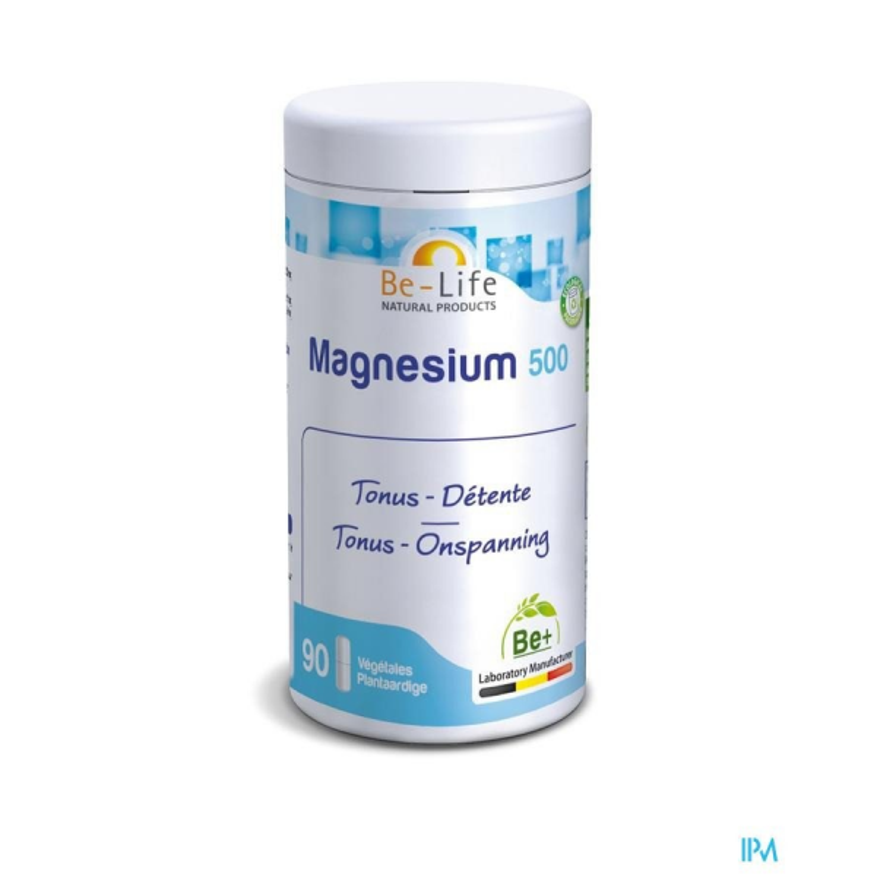 Magnesium 500 - 90 gélules - Be-Life (Biolife)