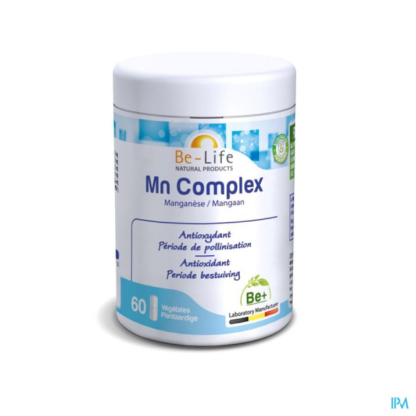 Mn COMPLEX - 60 gélules - Be-Life (Biolife)