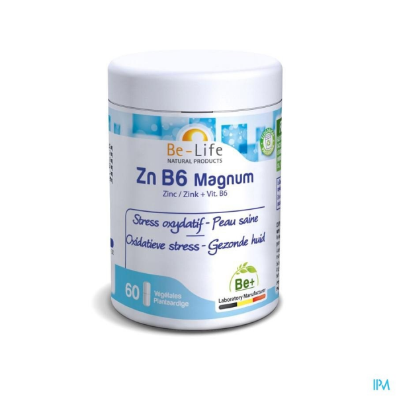 ZN B6  MAGNUM - 60 gélules - Be-Life (Biolife)