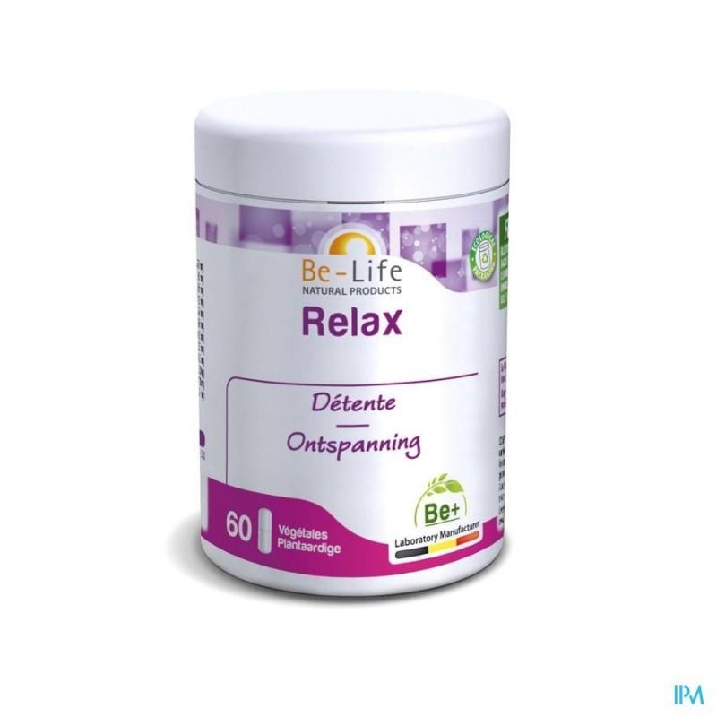 BE-LIFE Relax - complément naturel phytothérapie - détente sommeil