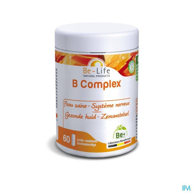 B COMPLEX - 60 gélules - Be-Life (Biolife)