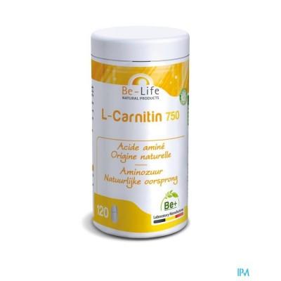 L-CARNITIN (carnitine) 750 - 120 gélules - Be-Life (Biolife)