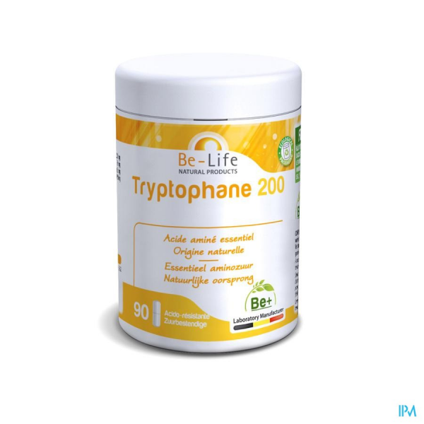 TRYPTOPHANE 200 - 90 gélules - Be-Life (Biolife)