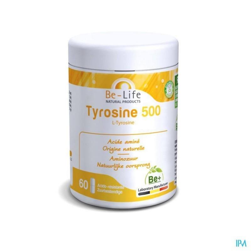 TYROSINE 500 - 60 gélules - Be-Life (Biolife)