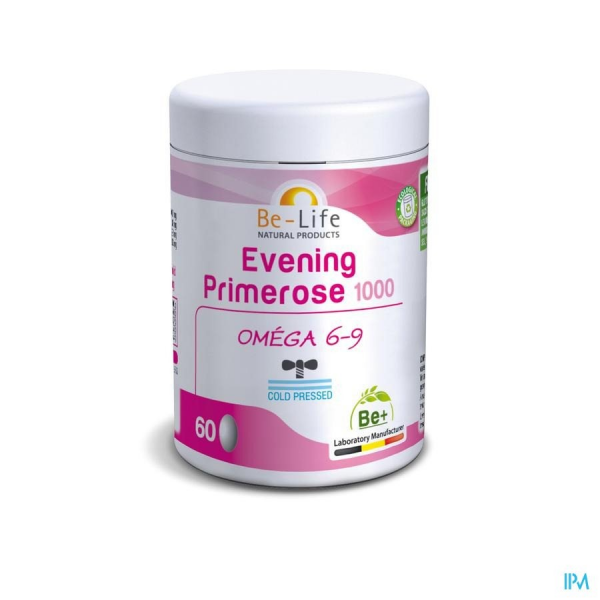 BE-LIFE Evening Primerose 1000 Bio - 60 gel
