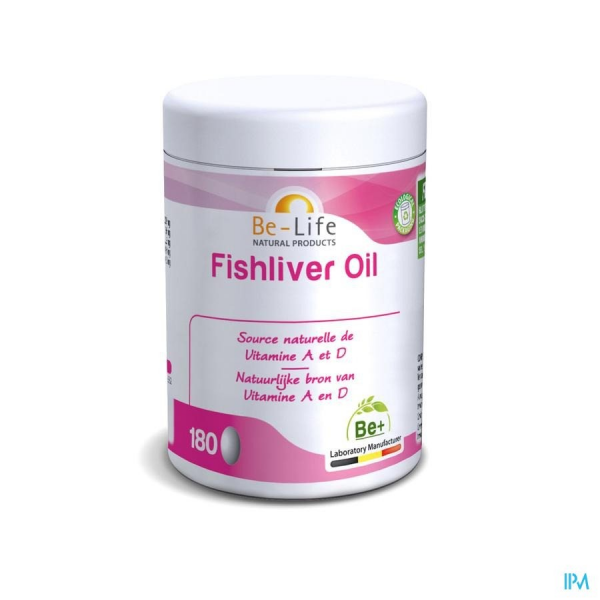 BE-LIFE Fishliver Oil - 180 gel