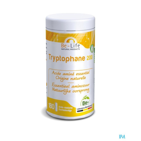 TRYPTOPHANE 200 - 180 gélules - Be-Life (Biolife)
