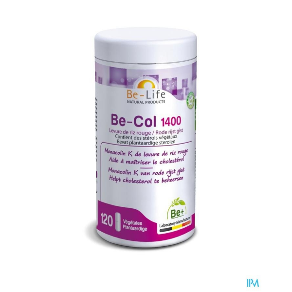Be-Col 1400 - 120 gélules - Be-Life (Biolife)
