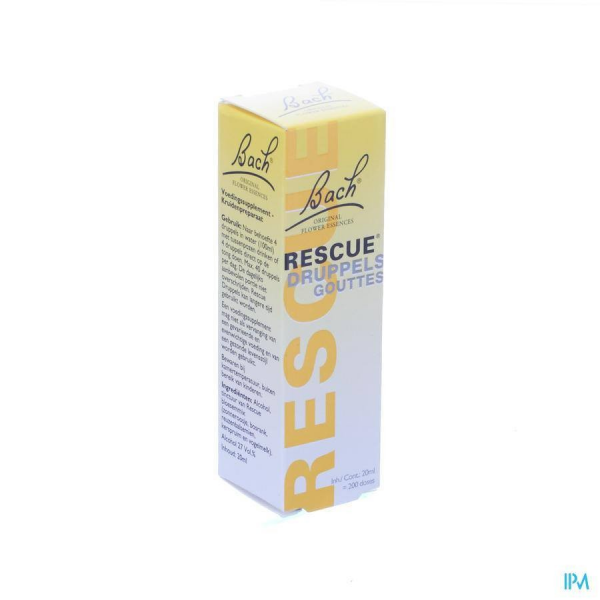Bach Flower Rescue Remedy  gouttes - 20 ml