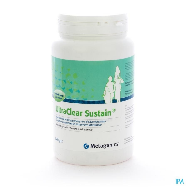 ULTRACLEAR SUSTAIN - 840 G - Funciomed (Metagenics)