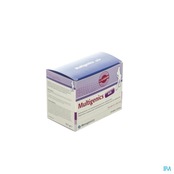 Multigenics Ado - 30 sachets - Funciomed (Metagenics)