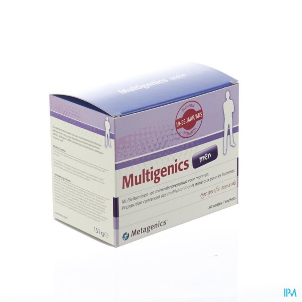 Multigenics Men - 30 sachets - Funciomed (Metagenics)