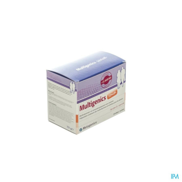 Multigenics Senior - 30 sachets - Funciomed (Metagenics)