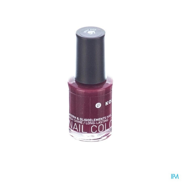 KORRES Vernis à Ongles Deep Red couleur 57