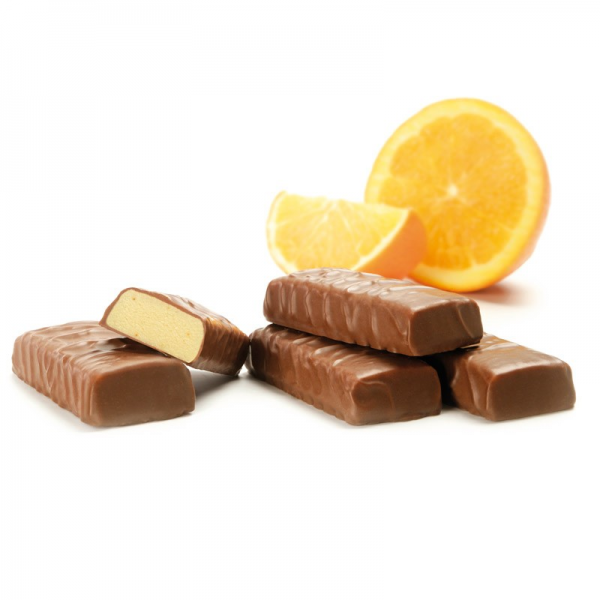 Inovance SÉROVANCE Barre Enrobée Chocolat au Lait - Orange - 7 barres