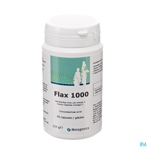METAGENICS Flax 1000