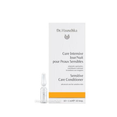 Dr. HAUSCHKA Cure Intensive J/N peaux sensibles - 10 amp.