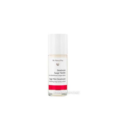 Dr. HAUSCHKA Déodorant Sauge Menthe - 50 ml