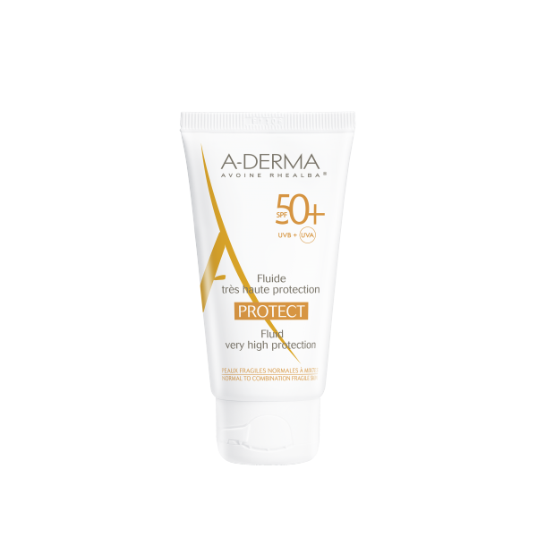 A-DERMA Protect Fluide Solaire SPF50+ - 40ml