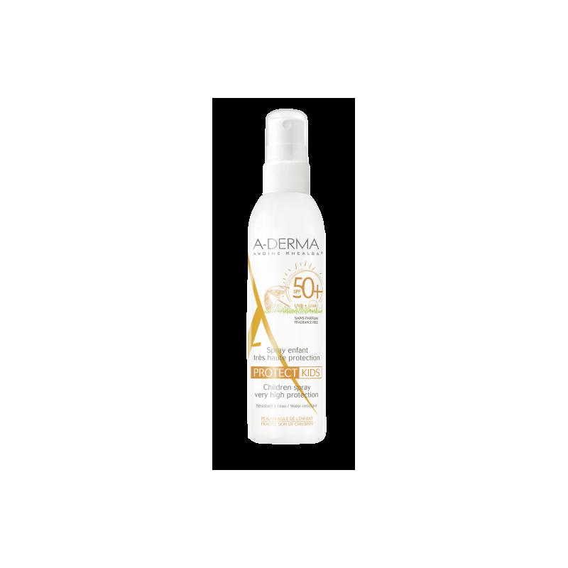 A-DERMA Protect Spray Solaire Enfant SPF50+ - 200 ml