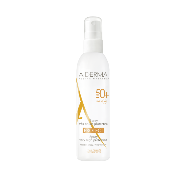 A-DERMA Protect Spray Solaire SPF50+ - 200 ml
