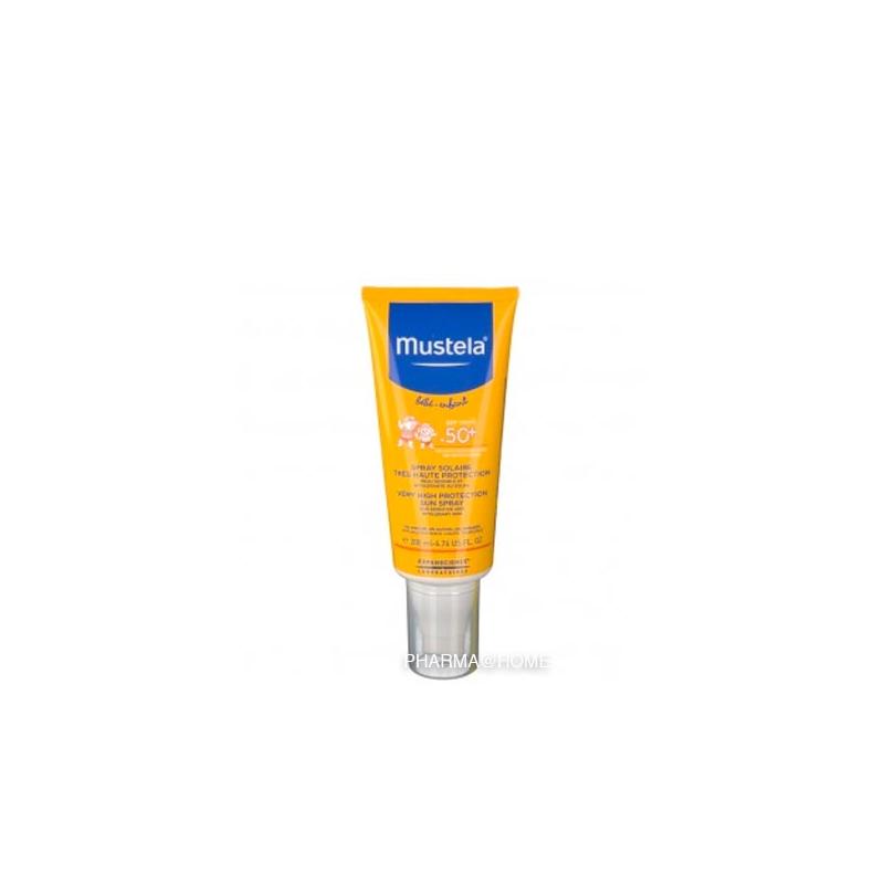 Mustela Bb Sol Lait Tr.haute Protect 50+ Spr.200ml