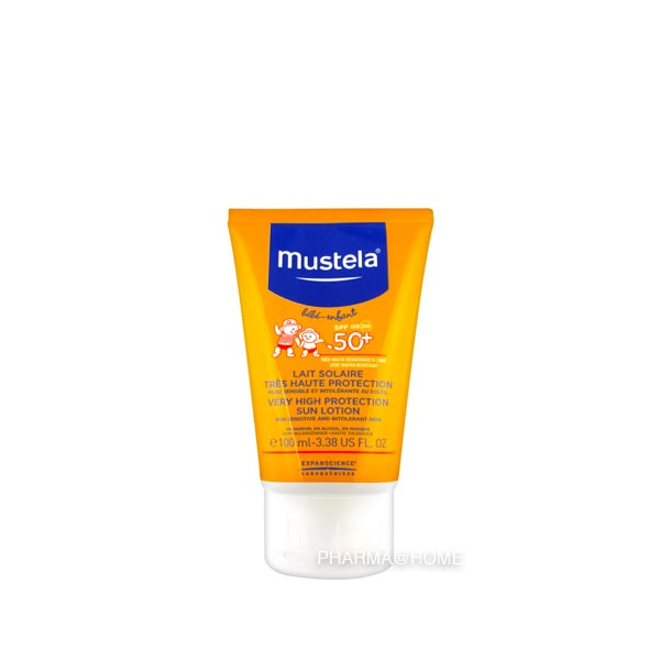 Mustela Bb Sl Lait Tres Haute Protection 50+ 100ml
