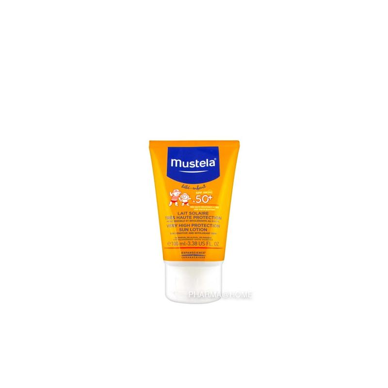 MUSTELA Bébé Lait Protection Solaire SPF50+ - 100 ml