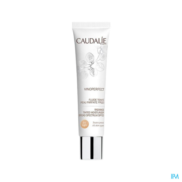 Caudalie Vinoperfect Fluide Teint Ip20 Light 40ml