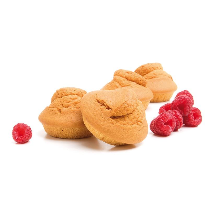 Complément repas minceur madeleines fruits rouges Protéifine