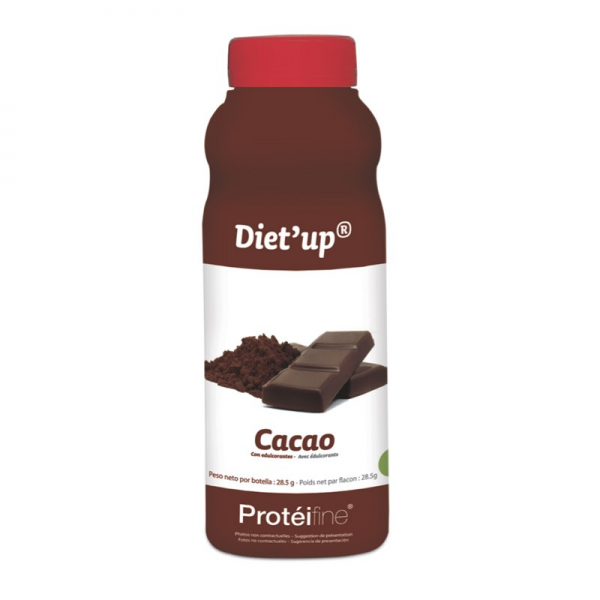 PROTEIFINE Diet'up Cacao - 5 flacons