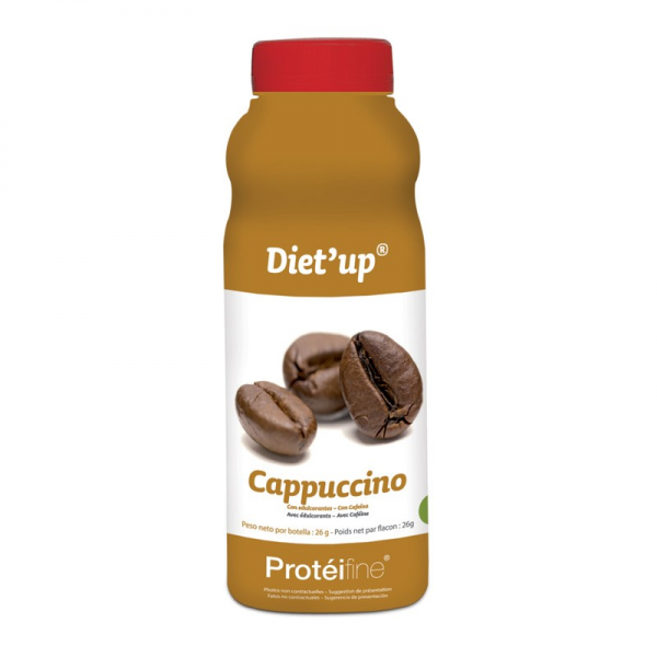 PROTEIFINE Diet'up Cappuccino - 5 flacons