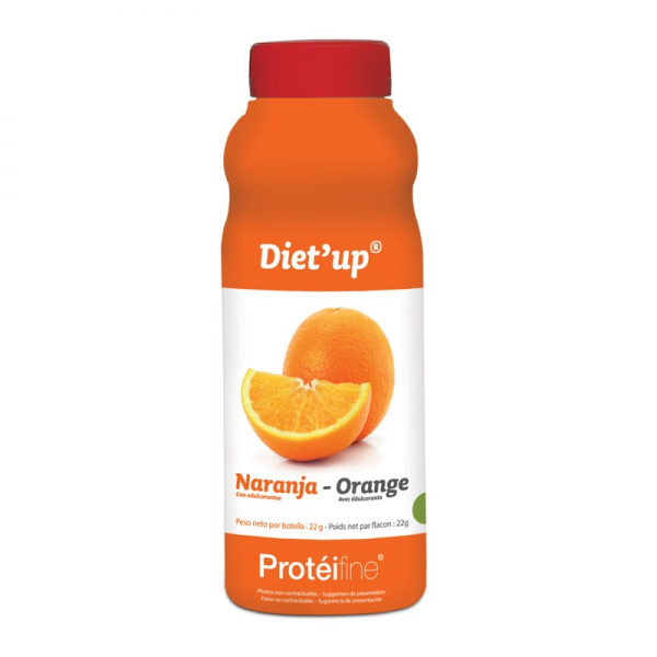 PROTEIFINE Diet'up Orange - 5 flacons