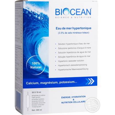 BIOCEAN HYPERTONIC- 30 AMP 10 ML new - ENERGETICA NATURA