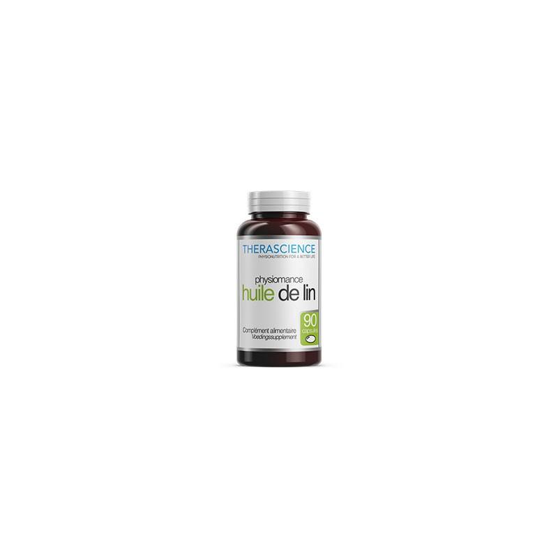 Huile de lin - 90 capsules - Physiomance
